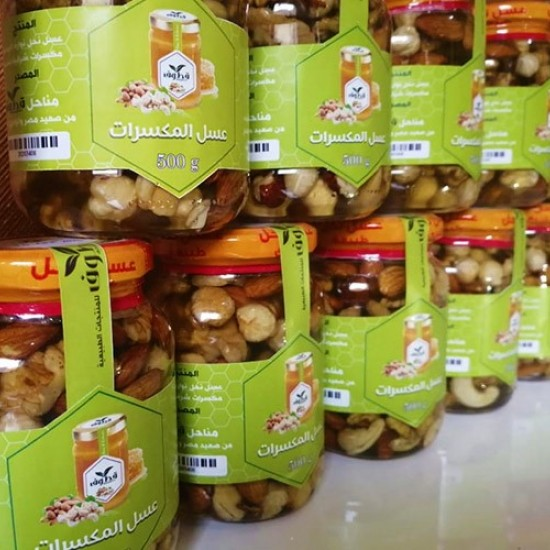 Nuts Honey 500 grams